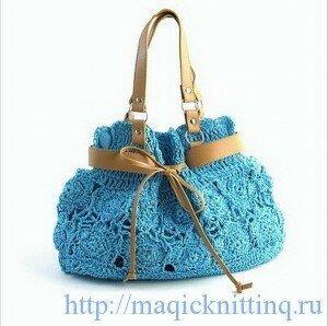 сумки связанные крючком