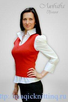 Кто сказал, что офисная женская одежда не може быть вязаной? Очень даже может быть :) Я в этом уже убедилась, когда искала информацию о том, какая одежда подходит для офиса в осенние дни.