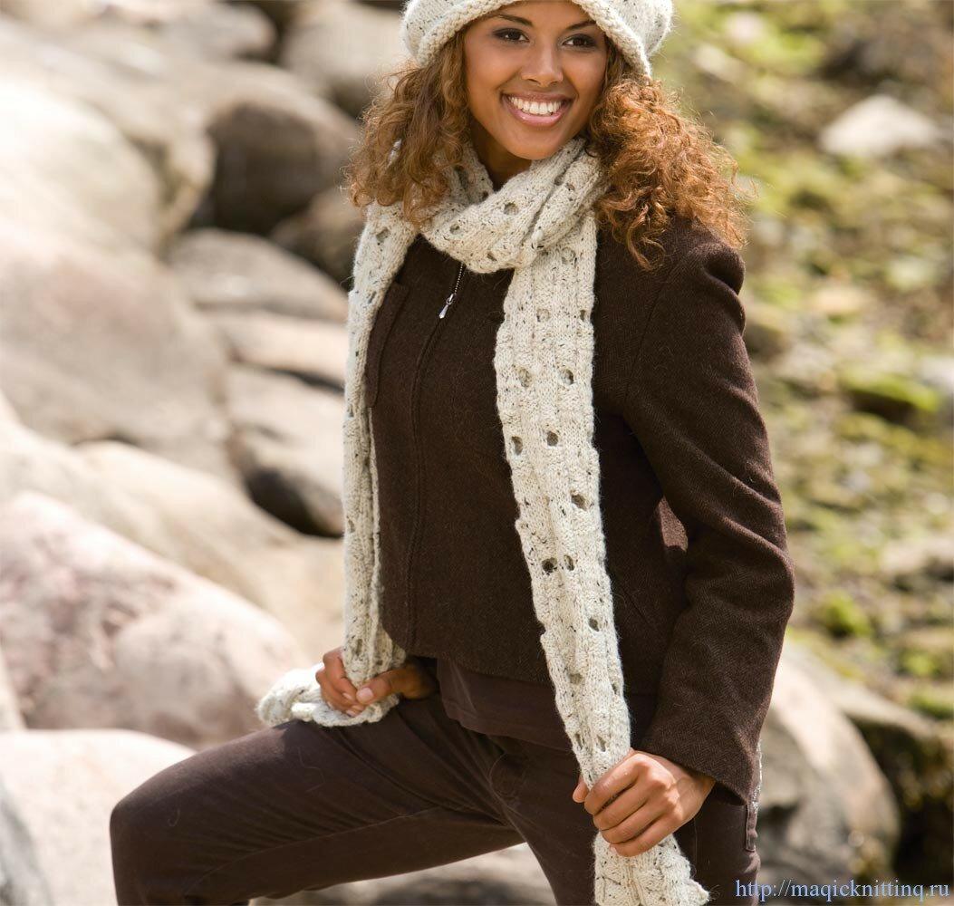 Вязание шарфы для женщин фото